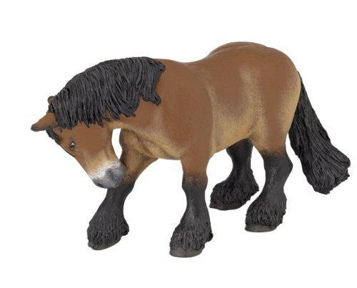 Papo Ardennais Draft Horse Figurine