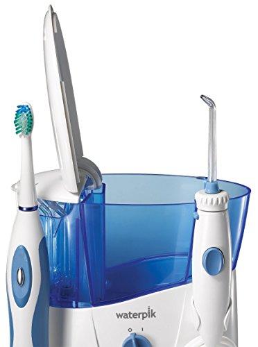 electric toothbrush water flosser sonic pulsation set dental oral gum clean c. Black Bedroom Furniture Sets. Home Design Ideas