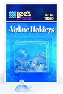 Airline Holders for Aquariums - 6 Pack