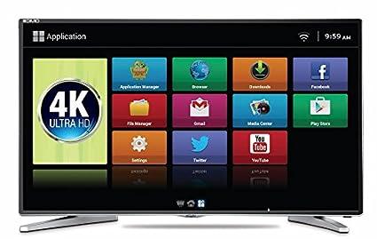Mitashi MiDE055V22 55 Inch Ultra HD 4K Smart DLED TV Image