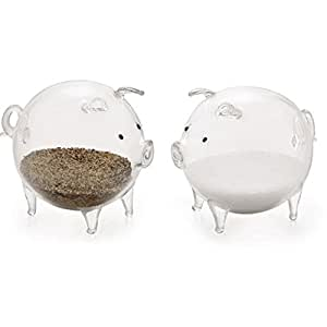 Glass Pigs Salt And Pepper Shakers Country
