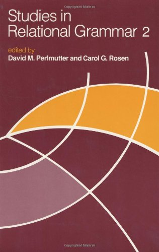 Studies in Relational Grammar: v. 2 (Studies in Relational Grammar 2)