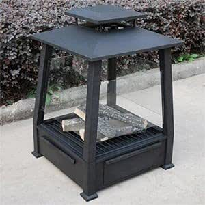 Pagoda Gel Fuel Fire Pit