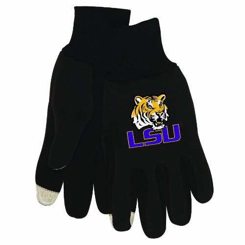 NCAA Louisiana State University Tigers Technology Touch Gloves at Amazon.com