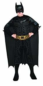 Batman Dark Knight Rises Child's Batman Costume with Mask and Cape - Small