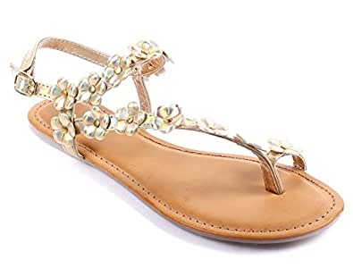 Elegant  Womens Sandals Slingbacks Flats Shoes New Without Box  Amazoncom