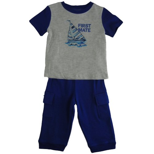 Vitamins First Mate Top And Knit Pants