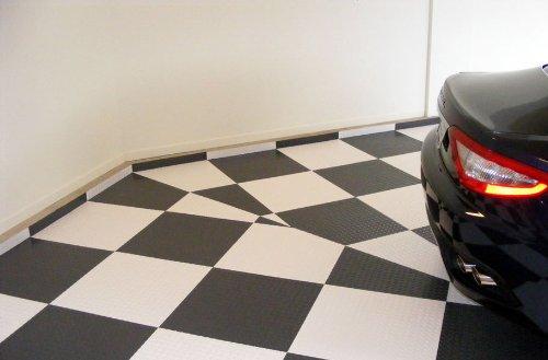Incstores Peel And Stick Tiles Diamond Pattern Slate Gray Box Pvc Flooring