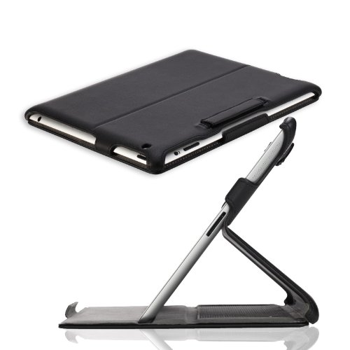 MoKo Slim-Fit Folio Stand Case for Apple New IPad 3 /IPad 2 / IPad3