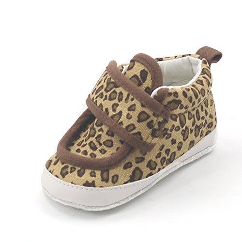 Msmushroom Kid'S Cotton Spot Fashion Sneaker Brown,4 M