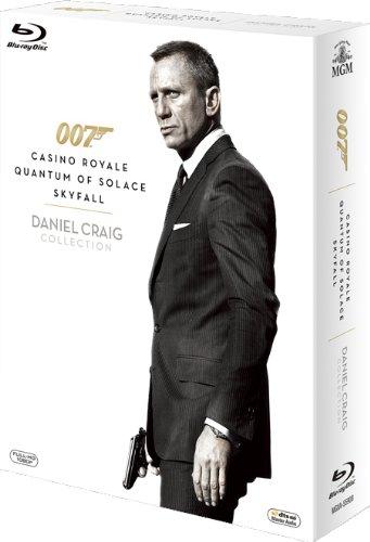 007/ダニエル・クレイグ・ブルーレイ・トリプル・コレクション (初回生産限定) [Blu-ray]