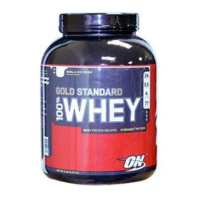 Optimum Nutrition 100% Whey Gold Standard, Vanilla Ice Cream