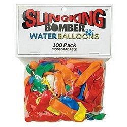 Sling king Bomber Water Balloons 100 pack Biodegradable