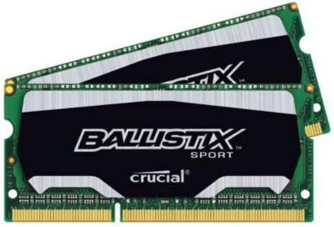 Crucial 8GB (4GB x2) Laptop Memory