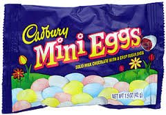 Easter Cadbury Mini Eggs-1 pack (034000072521)