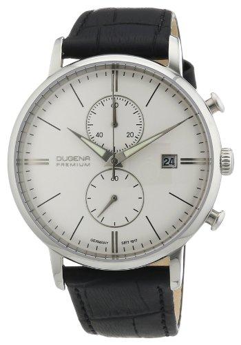 Dugena Premium Men's Quartz Watch Festa 7000168 with Leather Strap