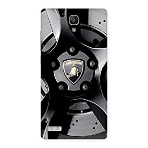 Lm Wheel Back Case Cover for Redmi Note 4