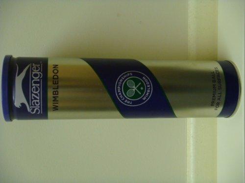 Slazenger Wimbledon Premium Tennis Balls-4 Balls