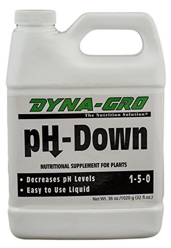 Dyna-Gro Phd-032 Ph-Down Nutritional Supplement 1-5-0, 32-Ounce