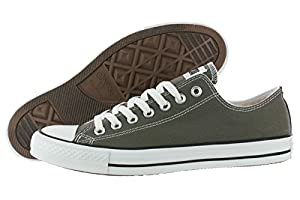 Converse Unisex Chuck Taylor All Star Low, Charcoal, 9 D(M) US Mens / 11 B(M) US Womens