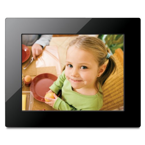 View Sonic VFM823-50 8-Inch Digital Picture Frame (Black)