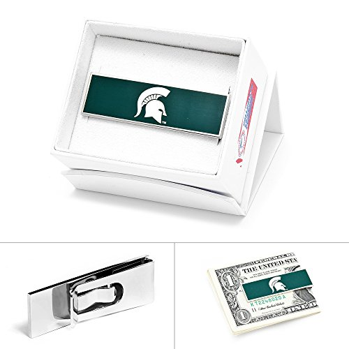 Michigan State Spartans Money Clip Novelty 2 x 1in
