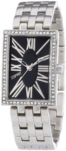 esprit-damen-armbanduhr-splendid-roman-black-analog-edelstahl-es101742002