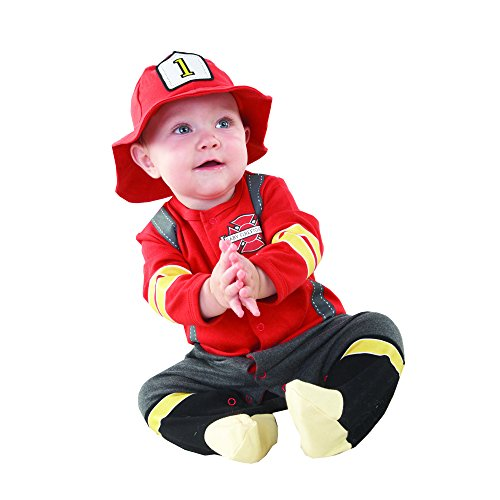 Baby Aspen, Baby Firefighter Themed Gift Box, Baby Firefighter, 0-6 Months