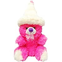Atorakushon 2 Feet Apprx Cute Cap Teddy Bear Soft Stuffed Plush Toy Valentine Birthday Gift