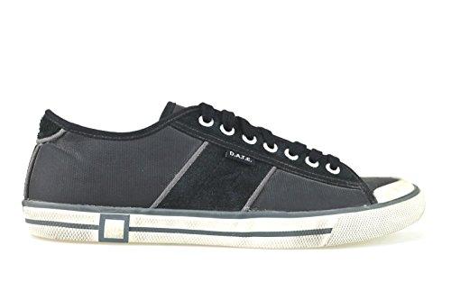 scarpe uomo D.A.T.E (Date) 40 EU sneakers nero pelle / camoscio AJ65