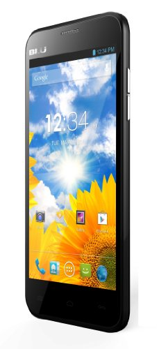 BLU Dash 5.0 D410a Unlocked GSM Dual-SIM Android Cell Phone - Black