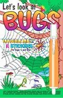 Let's Look at Bugs Invisible Ink Book by Lee Publications