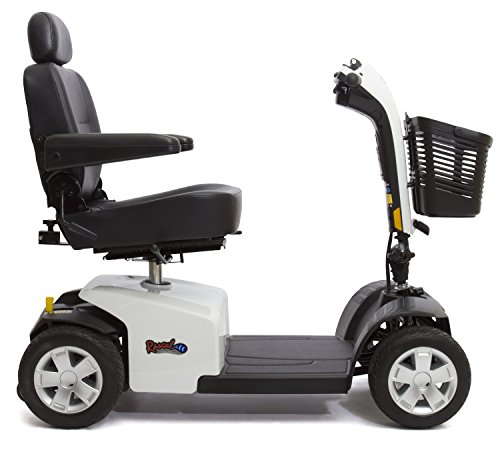 Rascal 10 Four Wheel Mobility Scooter - White