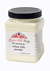 Hoosier Hill Farm All American Dairy Whole Milk Powder 1 lb