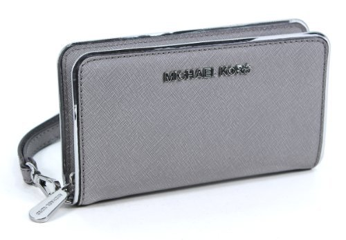Michael Kors Jet Set Specchio Phone Case Pearl Grey