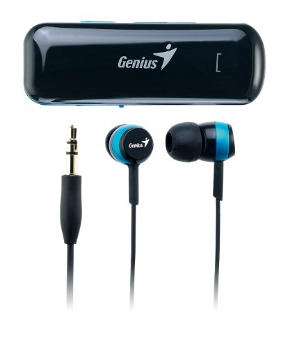 Genius Hs-905Bt Bluetooth Stereo Headset For Music And Call Answering