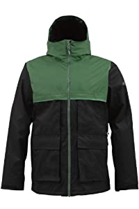 Burton Arctic Mens Jacket Murphy Black S by Burton