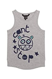 Little Marc Jacobs Tank Top CAN\'T STOP, Color: Grey, Size: 116