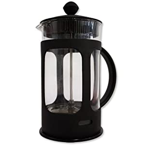 Brewell Café French Press Coffee Maker Plunger 8 Cups (34 oz)
