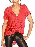 BANDIDA Camiseta Manga Corta Léa (Rojo)
