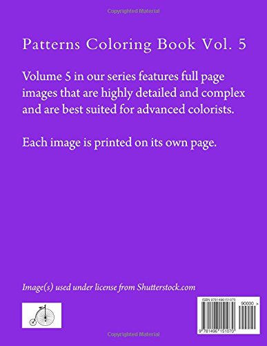 Patterns Coloring Book Vol. 5
