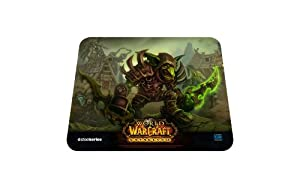 SteelSeries QcK World of Warcraft Cataclysm Gaming Mouse Pad-Goblin Edition
