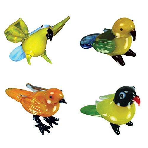 Looking Glass Exotic Birds Miniature Figures