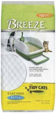 Tidy Cats 4 Count Breeze Litter Pad Refill (Pack