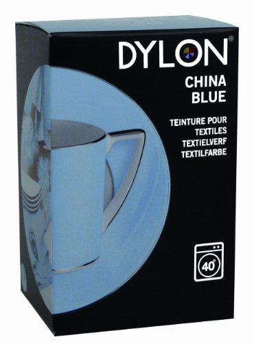 dylon china blue fabric dye 200 g officetools center. Black Bedroom Furniture Sets. Home Design Ideas