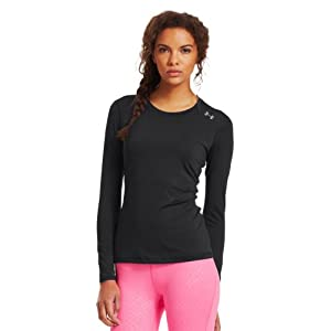 Under Armour Women's HeatGear® Sonic Long Sleeve Small Black