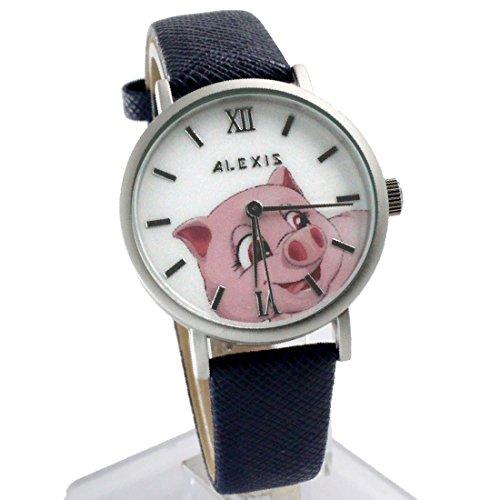 ukfw967d-dunkelblau-band-pnp-matt-silber-watchcase-wasser-widerstehen-frauen-fashion-armbanduhr