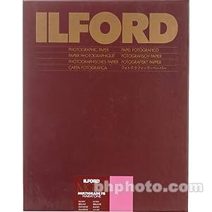 Ilford Multigrade FB Fiber Based Warmtone VC Variable Contrast Black & White Enlarging Paper - 8x10