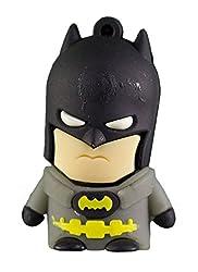 Zeztee Batman Cartoon Character Shape 16GB Pen Drive ZTRBPD9175_BK USB 2.0 (Multicolor)