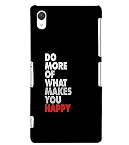 SONY XPERIA Z2 DO MORE Back Cover by PRINTSWAG